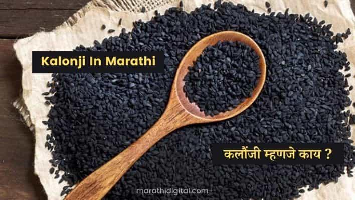 Kalonji In Marathi